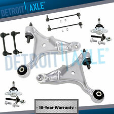 (8pc) Front Lower Control Arm Ball Joint Sway bar link for 2001-07 Volvo S60 V70