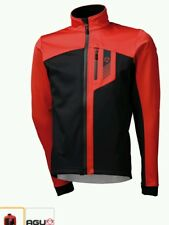 RED XXL Softshell 290gr/m2 DWR Threated RACE Jacket (NEW) inc Red Helmet.