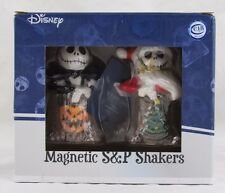 Disney Holiday Jacks Magnetic Salt & Pepper Shakers, Westland, New in Box