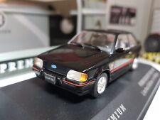 1:43 Scale Model Ford Escort XR3i Mk4 IV 1990 Black Triple 9 Diecast Car BNIB