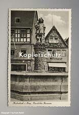 AK LADEN in Kulmbach mit BMW EMAILSCHILD u. a. um 1950