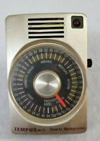 VINTAGE Tempus Quartz Metronome Model No. QM-30 TESTED !