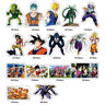 36 Pcs/Lot Anime Dragon Ball Stickers Super Saiyan Goku Decal sticker Car Laptop