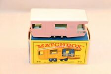 Matchbox Lesney No 23 Trailer Caravan mint in box all original condition BPW