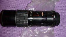 ALBINAR ONE-TOUCH AUTO ZOOM LENS 100-200 mm F.5.6 MADE IN JAPAN