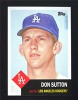 2016 Topps Archives #19 Don Sutton - NM-MT
