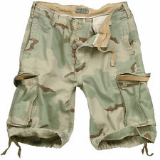 Cotton Cargo, Combat Loose Fit Shorts for Men
