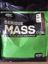 "Optimum Nutrition Serious Mass 12lb Mass Gainer ""Pick Flavor"" *Free Shipping*"