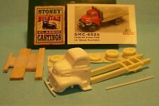 SMC-652B 1948-50 Ford Truck w/14' Wood Bed  HO-1/87th Scale White Resin Kit
