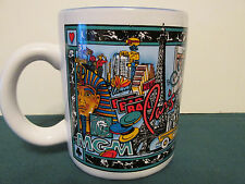LAS VEGAS CASINO COFFEE CUP MGM GRAND PARIS BELLAGIO EXCALIBUR TREASURE ISLAND++