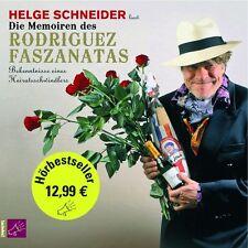 Die Memoiren des Rodriguez Faszanatas, 3 Audio-CDs CD Schneider,Helge