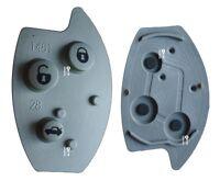 Rubber button pad for Citroen Xsara Picasso 3 button remote alarm key fob C5 FIX
