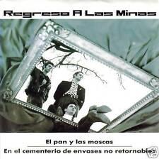 REGRESO A LAS MINAS-EL PAN Y LAS MOSCAS SINGLE VINILO