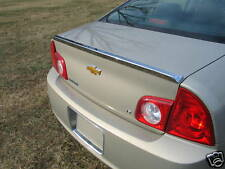 2008-2012 Chevrolet Malibu Factory Style Chrome Rear Lip Spoiler Brand New Trim