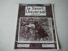 Le Sport Universel illustré 03.01.1931 Donne mon beau,chien de chasse n°1453
