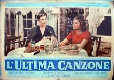 fotobusta 1958 L'ULTIMA CANZONE-Robero Risso-Alessandra Panaro-Madalene Fiscer-2