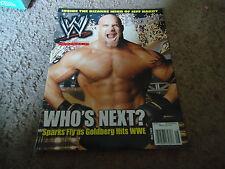 WWE Magazine Goldberg  May 2003