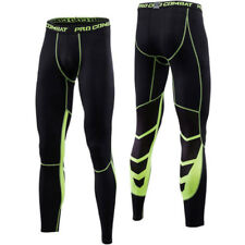 Mens Apparel Compression Base Layers Leggings Fitness Sports Long Pants Gym Wear