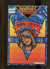 ROCK 'N' ROLL COMICS (9.2)NM- BON JOVI!! 1989