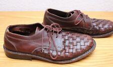 Boemos Herren Braun Leder-Schuhe Gr.41