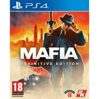 MAFIA: DEFINITIVE EDITION PLAYSTATION 4 PREORDER 2K GAMES