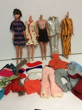 Vintage 1960s Barbie Doll with  extra Clothing  lot #13