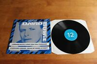 David Bowie - UK UNPLAYED - Great Quality record - cover / Archive4 -