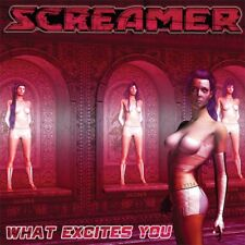 SCREAMER-What excites you (new*lim.500*us METAL * C. Glory * aftershok * F. Angel)