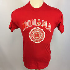 Vintage 70s 80s Iu Indiana Hoosiers College University Basketball T Shirt Usa