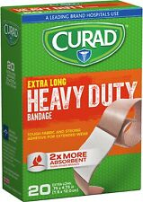 (3pk) Curad Extreme Lengths, Extra Long Bandaids,Latex Free 3-New Boxes