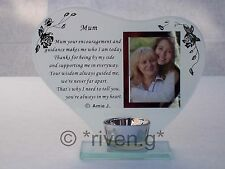 Mum@candle holder@picture keepsake@cherished mother@parent gift@mammy Fotografia