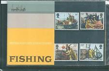 GB - PRESENTATION PACK - 1981 - FISHING INDUSTRY