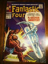 Fantastic Four #55 Classic Kirby Key Early Silver Surfer Stan Lee 1st Pr Marvel