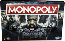 Monopoly Game: Black Panther Marvel Edition Board Game Hasbro, BRAND NEW