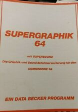 Super gráfico 64 (Data Becker 1985) Commodore c64 (disquete + manual) 100% ok