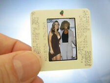 Original Press Photo Slide Negative - Whitney Houston & Mariah Carey - 1998