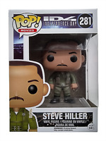 Funko Pop Vaulted Steve Hiller 281 Movies Independence Day Vinyl Figure New