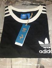 Para Hombre Adidas Orignal T Shirt X Grande Negro