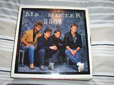 """Mr Mister - Is It Love - 12"""" Single"""