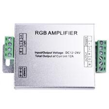HU DC 12V LED RGB Amplificateur Bandes LED Amplificateur Signal de lumiere
