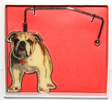 NEW Fuzzy Nation Bulldog Dog Purse Hook For Table
