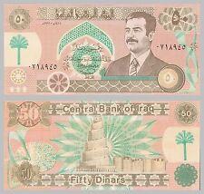 Irak / Iraq 50 Dinars 1991 p75 unz.