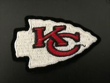 Kansas City Chiefs Patch Iron On Embroidered Patch ~USA Seller~FREE Shipping!