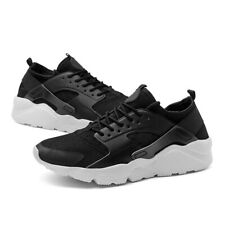 MENS WOMENS PUMPS RUNNING TRAINERS LACE UP MESH CASUAL SPORTS SHOES BREATHABLE