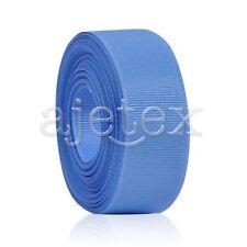 10 Meters Grosgrain Ribbon 6/10/15/20/25/38mm Craft Wedding Decor 40 Colors FB