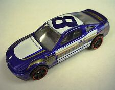 BLUE Hot Wheels KOOTENAI County Sheriff Police Car RED RIMS '10 Mustang GT LOOSE