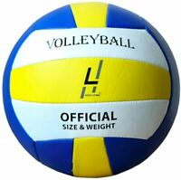 Highliving ® Volleyball Synthetic Leather ball Outdoor Indoor Beach Gym Size 5