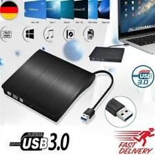 DVD Laufwerk USB 3.0 2.0 Brenner Slim CD DVD-RW Brenner Extern für PC Laptop Mac