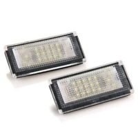 2x LED lighting plate number plate lights for BMW Mini Cooper R50 R52 A9A3