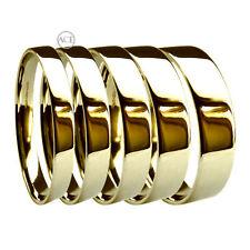 Anelli di lusso in oro giallo matrimonio 18 carati